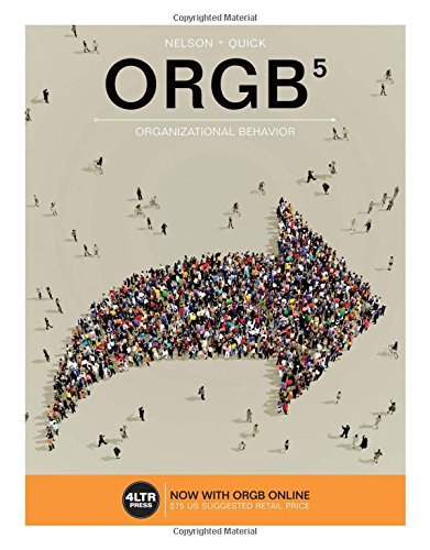 1305663918 - ORGB (with ORGB Online, 1 term (6 months) Printed Access Card) (New, Engaging Titles from 4LTR Press)