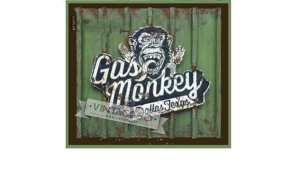 DUNAS - Cartel retro gas monkey: Amazon.es: Hogar