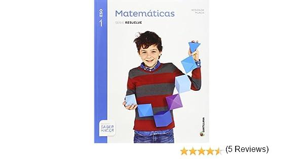 1ESO MATEMATICAS MURCIA SANTILLANA EDUCACIÓN - 9788414102831 ...