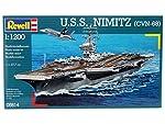 Revell Germany U.S.S. Nimitz (CVN-68) Model Kit from MMD Holdings, LLC