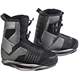 RONIX Preston Wakeboard Bindings - Black Chrome / Night - 10 by Ronix