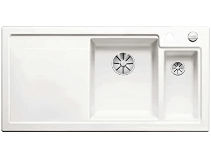 BLANCO AXON II 6 S cristallo bianco di ceramica lavello cucina ...