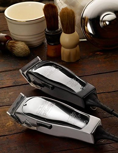 Andis Master Hair Adjustable Blade Clipper, Silver with a BeauWis Blade Brush by Andis (Image #4)