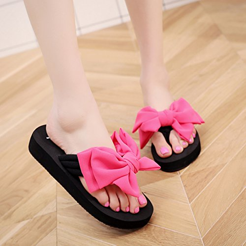 plano señoras beach zapatillas zapatos de Verano antideslizante Clippers fondo b pies FLYRCX seaside OzTxHqt