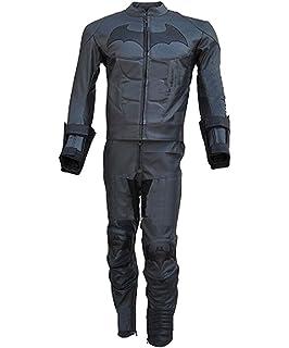 classyak traje de Batman Arkham caballero oscuro de piel Para Moto para hombre – Chaqueta y