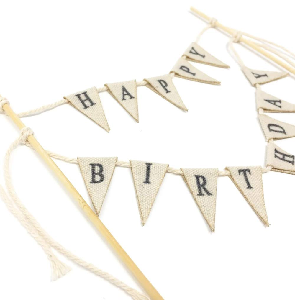 Amazon Soccerene Happy Birthday Cake Bunting Topper Cake