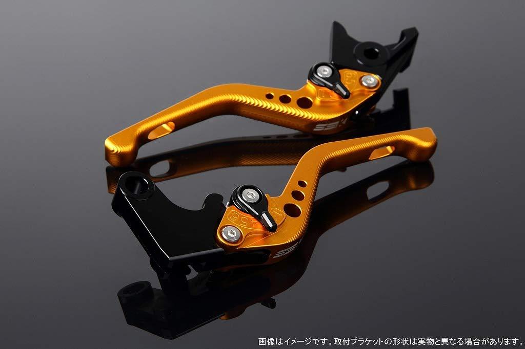 SSK アジャストレバー 3Dショート レバー本体カラー:マットゴールド アジャスターカラー:マットブラック B07MX9K7PD