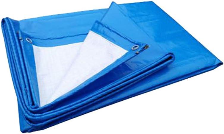 ZXXY Lona Impermeable, Cubierta de Lona de Uso múltiple Azul ...