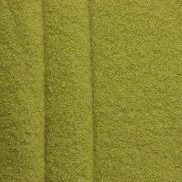 100% Wolle Walkloden Meterware Lind-Grün: Amazon.de: Küche & Haushalt