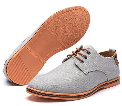 Oxford & Derby : DADAWEN Mens Classic Suede Leather Oxford