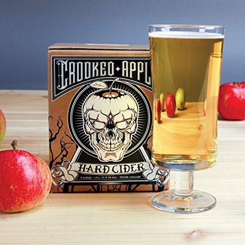 Northern Brewer - Crooked Apple Complete Hard Cider Making Starter Kit - 1 Gallon Grimhilde Cider Recipe And Little Big Mouth Bubbler Equipment by Northern Brewer (Image #3)