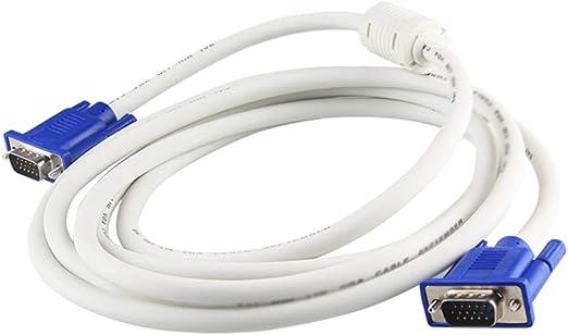 Cable de pantalla de la computadora Cable VGA, VGA macho a macho, 1920x1440 @ 60Hz Full HD