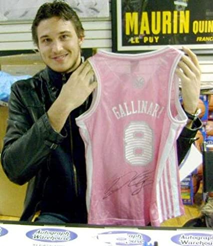 check out 800b7 3d060 Danilo Gallinari autographed Jersey (New York Knicks) Ladies ...