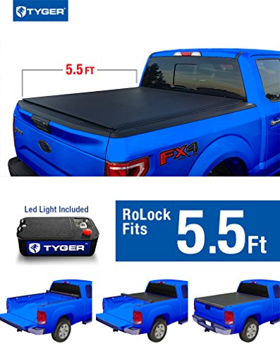 Tyger Auto TG-BC2F2076 RoLock Low Profile Roll-Up Truck B...