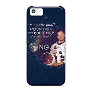 New Tribute To Neil Armstrong Skin Case Cover Shatterproof Case For Iphone 5c
