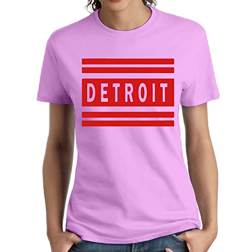 Detroit Women's Short Sleeve T-shirt Tee XXL (Johnson Motors Xxl)