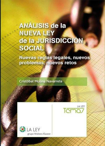 Descargar Libro Análisis De La Nueva Ley De Jurisdicción Social Molina Cristóbal