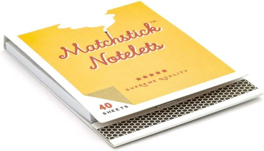 Cute Sticky Notes Luckies of London Matchstick Notelets Fun Stationery Gift