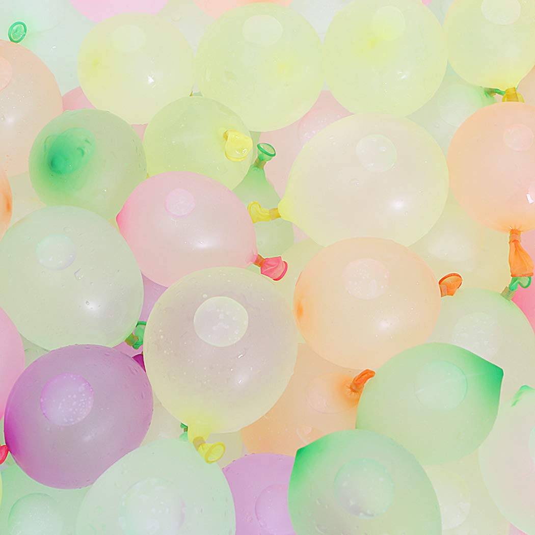 Liliannh The Perfect Instant Water Balloons&Self-Sealing Water Balloons, 370 Balloons(10 Bunches per Pack) for Adult&Children Water Sports Summer Outdoor Games