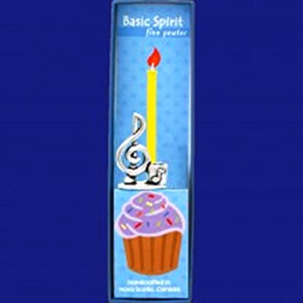 Image Unavailable Not Available For Color Basic Spirit Pewter Birthday Candle Holder