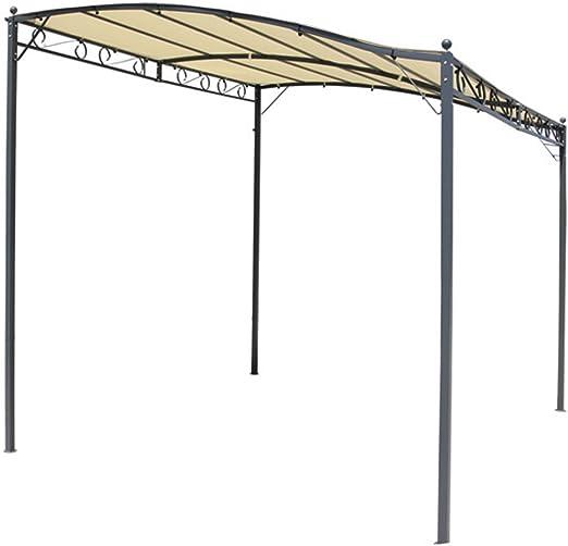 Tela de recambio para pérgola en poliéster de 180 g/m², color beige, tamaño:-PEGANE-250 x 300 cm: Amazon.es: Hogar