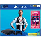 Sony PlayStation 4 1TB with FIFA 19 and Extra controller