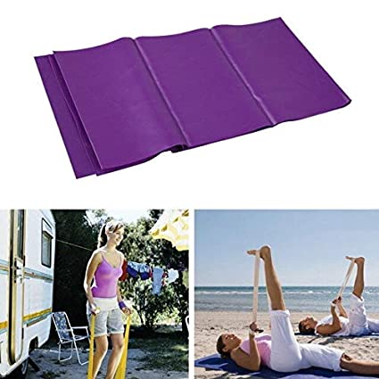 Ponis-Limos - 1.2m Elastic Thick Yoga Stretch Band Exercise ...