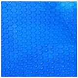 Blue Wave 14-Feet X 28-Feet Rectangular 12mm Solar Blanket for In-Ground Pools, Blue