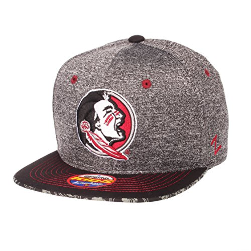 ZHATS NCAA Florida State Seminoles Children Boys Prodigy Youth Snapback Hat, Youth Adjustable, Gray/Team Color