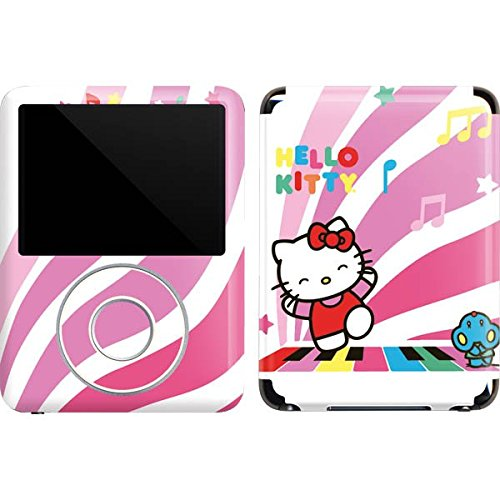 (Hello Kitty iPod Nano (3rd Gen) 4GB&8GB Skin - Hello Kitty Dancing Notes Vinyl Decal Skin For Your iPod Nano (3rd Gen) 4GB&8GB )
