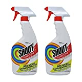 Shout Laundry Stain Remover Trigger Spray - 22 oz - 2 pk
