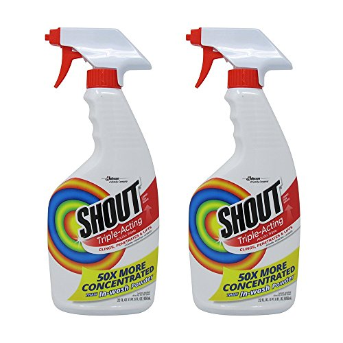 (Shout Laundry Stain Remover Trigger Spray - 22 oz - 2 pk)