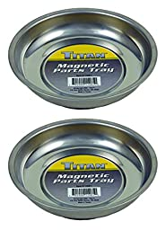 Titan - 11061 Mini Magnetic Parts Tray (2 Pk), 4 1/4\