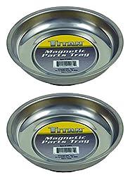 Titan - 11061 Mini Magnetic Parts Tray (2 Pk), 4 1/4\