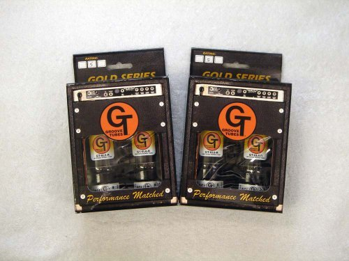 6L6R QT (マッチドカルテット) 4本セット販売 パワー管 ロシア製6L6 グルーブチューブ 真空管 7番  B006BLL51U