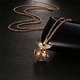 Harry Potter Necklace - Golden Snitch Lava Stone