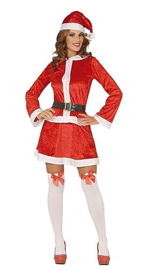 Guirca Disfraz de Mamá Noel para Mujer: Amazon.es: Juguetes ...