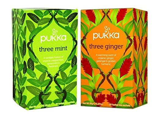Pukka Caffeine Free Organic Herbal Tea 2 Flavor Variety Bund