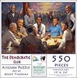 The Democratic Club 550 pc Jigsaw Puzzle by SunsOut