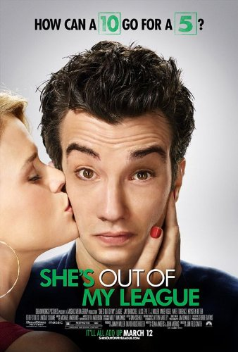 SHE'S OUT OF MY LEAGUE 27X40 ORIGINAL D/S MOVIE POSTER