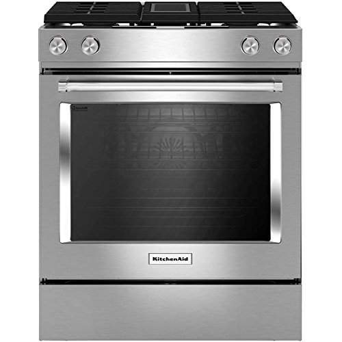Amazon.com: Kitchen Aid KSDG950ESS KSDG950ESS 6.4 Cu. Ft. Stainless Dual  Fuel Downdraft Slide In Range: Appliances