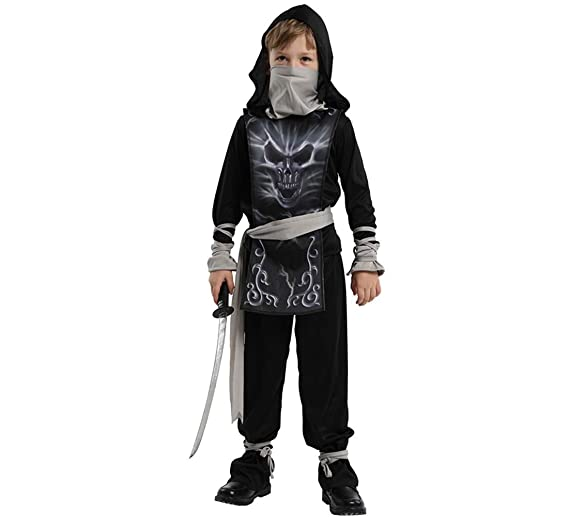 Jcyanz Maquillaje inmejorable Esqueleto Ninja Naruto Traje ...