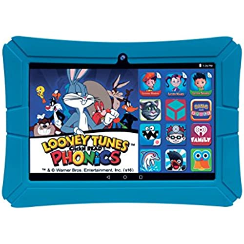 EPIK Learning Tab, 8 Kids Touchscreen Tablet Featuring Android 5.1 OS, Looney Tunes Phonics, 16GB Intel Quad Core Processor KidSafe Certified Coupons