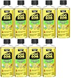 Goo Goo Glue & Tape Adhesive Remover - 4 Ounce - Removes Adhesives Stickers Crayon Glue Tape Gum Window Decals Glitter Labels and More (9-(Pack))