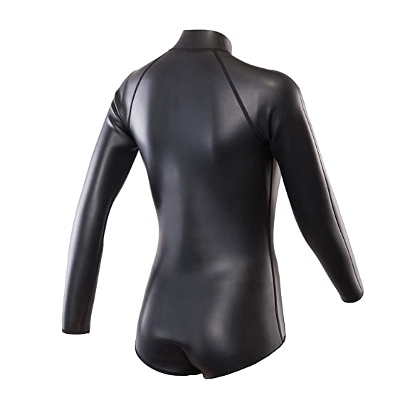 9481fb35715 Amazon.com   divecica Neoprene Wetsuit Women 3MM Surfing Wetsuits One Piece  Swimming Snorkeling Diving Wet Suit Long Sleeve   Sports   Outdoors