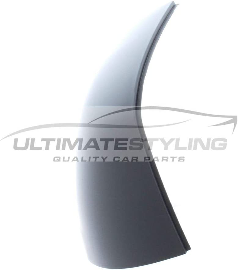 Left Hand Side LH Ultimate Styling Aftermarket Replacement Wing Mirror Cover Cap Colour Of Cover Primed For Passenger Side