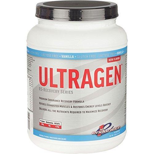 First Endurance Ultragen Recovery Drink Vanilla, One Size by First Endurance (Drink Ultragen Endurance)