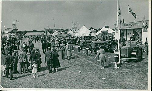 - Vintage photo of Royal Norfolk Show: General Views - Tractors