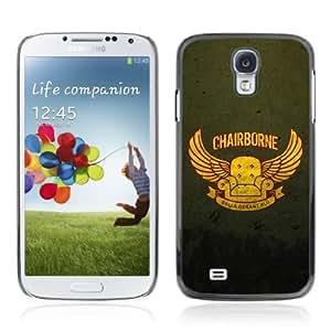 YOYOSHOP [Funny Chairborne Flag] Samsung Galaxy S4 Case Kimberly Kurzendoerfer