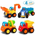 Kemuse Toddler Baby Toy Push And Go Friction Powered Car Toys Set for Children Boys Girls Kids Gift- Tractor, Bulldozer, Mixer Truck And Dumper?Set of 4? by Kemuse that we recomend individually.